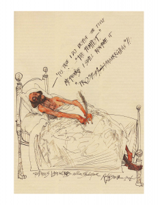 Famous Last Words, William Shakespeare, Ralph Steadman, 2006