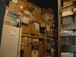 Severely Overcrowded Drug Vault