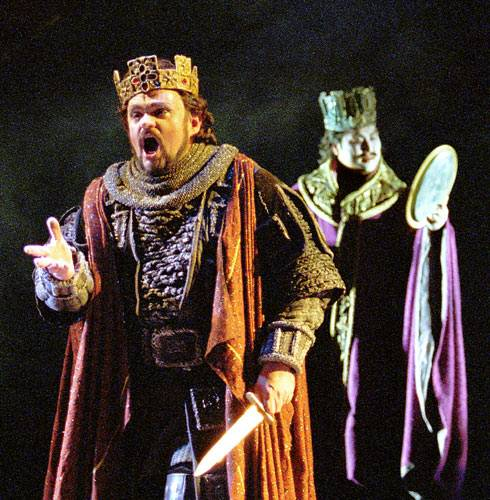 Banquo's Ghost Pays a Visit to Macbeth