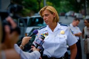 MPD Police Chief Cathy Lanier