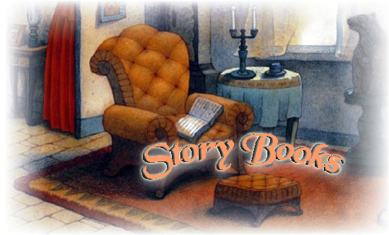 """""""Story Books"""" graphic from House of the Tiger Aunt"""