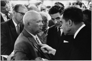 The Nixon Khrushchev Kitchen Debate